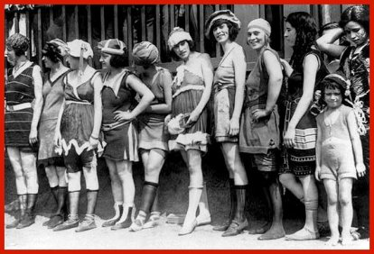 Anciens maillots de bain