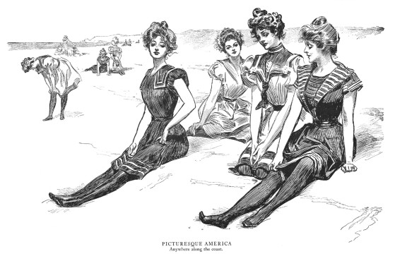 Anywhere along the coast - Gibson, vers 1900 (Life)