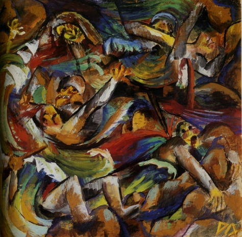 Otto Dix - La Tranchée