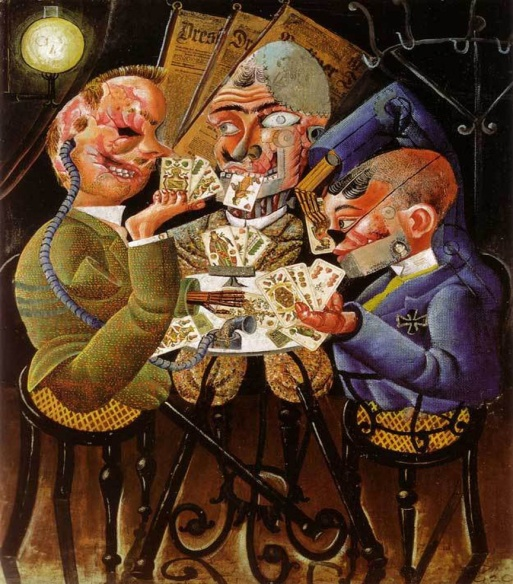 Otto Dix - Les joueurs de skat