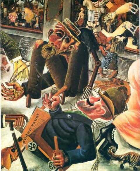 Otto Dix - PRAGERSTRASSE