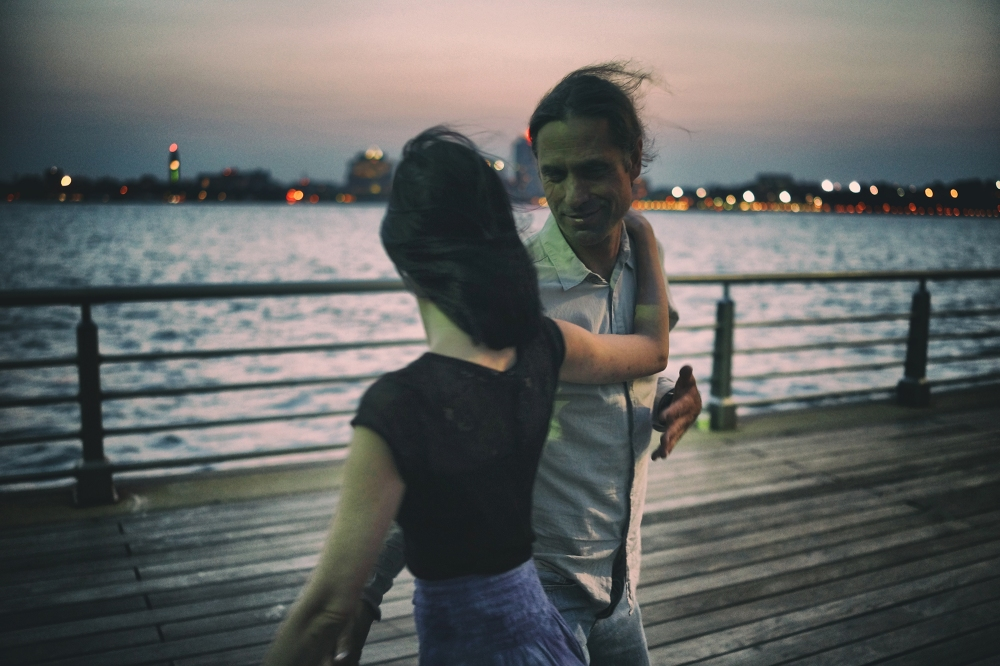 Couple dancing in New York