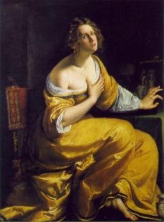 Marie Madeleine, 1613–20, par Artemisia Gentileschi. Droits réservés