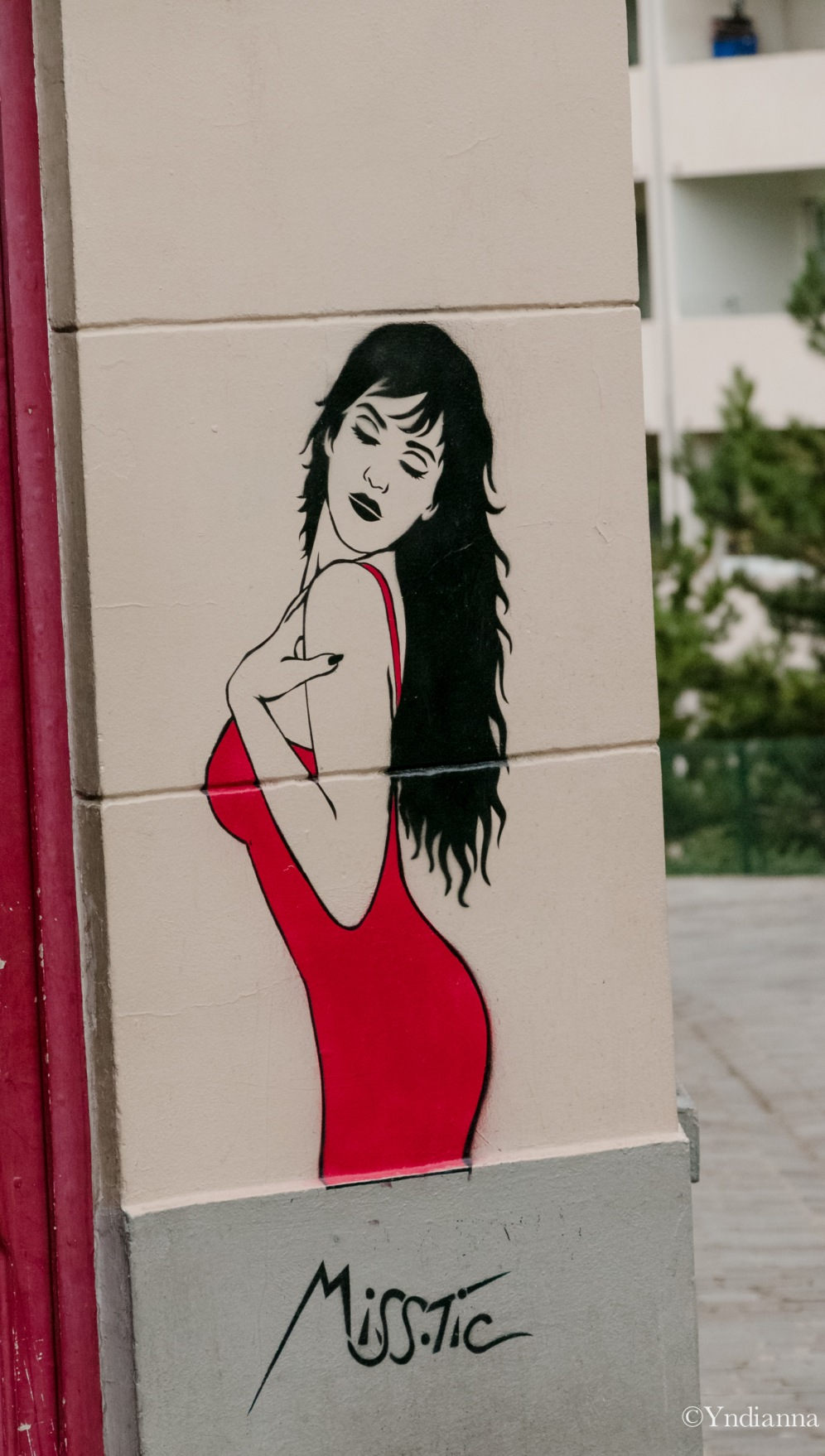 MISS.TIC - Street Art - Buttes aux Cailles - Paris - ©Yndianna-3