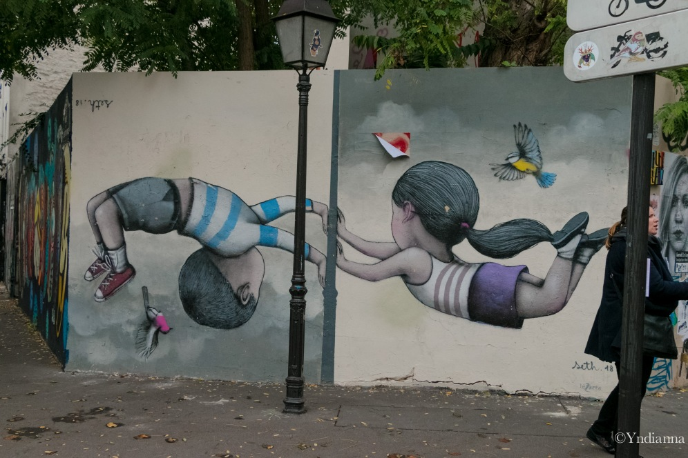 Street Art - Buttes aux Cailles - Paris - ©Yndianna