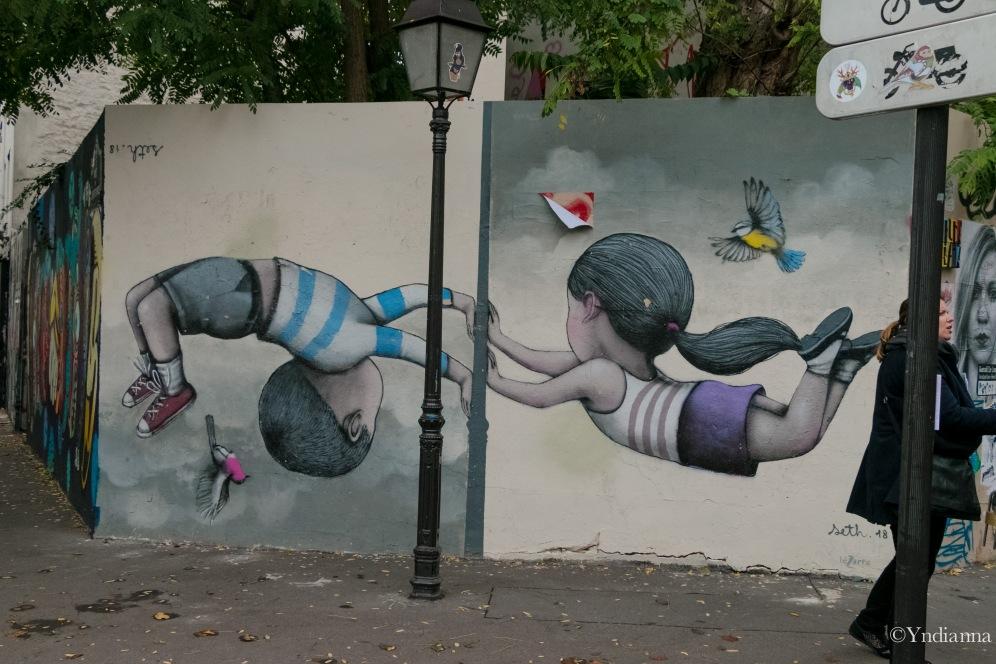 Street Art - Buttes aux Cailles - Paris - ©Yndianna