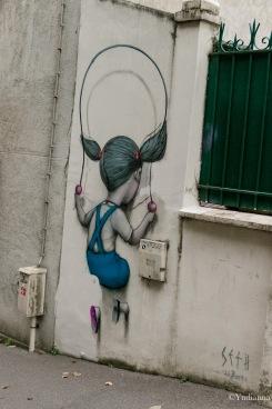 SETH - Passe Murailles - Street Art - Buttes aux Cailles - Paris - ©Yndianna-5