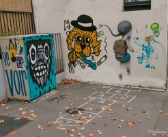 SETH - Passe Murailles - Street Art - Buttes aux Cailles - Paris - ©Yndianna